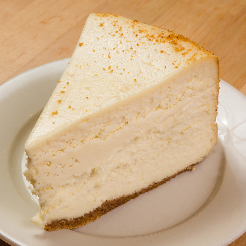 Cheesecake (1 Slice of Mom's Famous New York Plain Cheesecake)