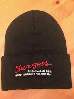 Sarge's Knit Cap with Cuff & Sarge's Embroidered LOGO