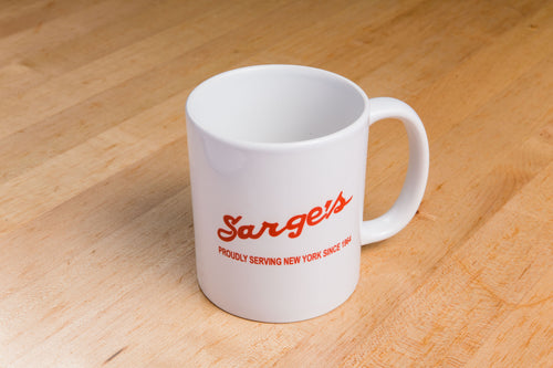 Sarge's 11 oz. Ceramic Coffee Mugs