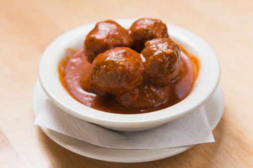 Swedish Meatball Appetizer (25 meatballs with gravy) Mom's Recipe