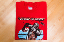"Sarge's ""Monster"" Jersey Short-Sleeve 100% Combed and Ring-Spun Cotton Crew-Neck Tee-Shirt"