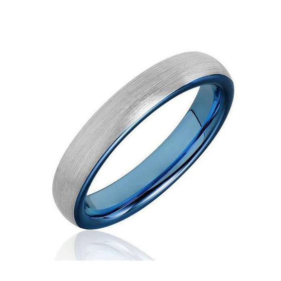 Tigrade Brushed Tungsten Carbide Ring