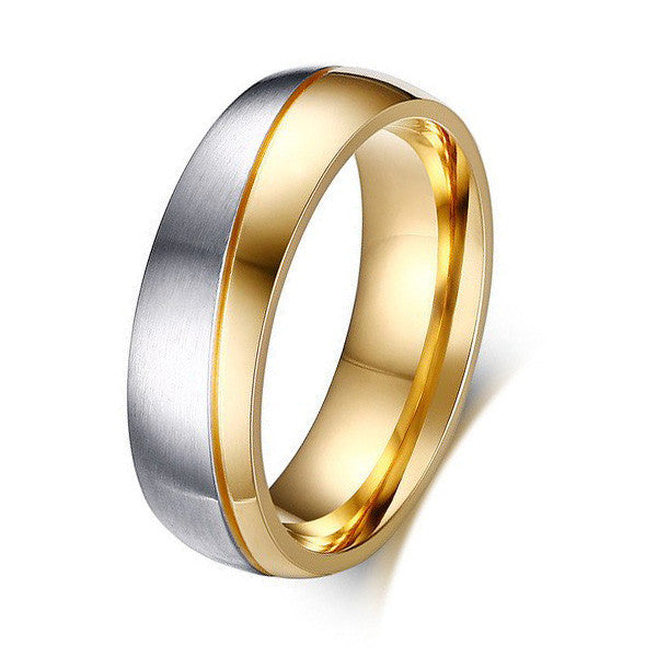 Stainless Steel Promise Ring For Men