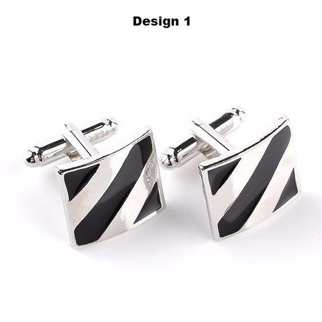 6 creative style cuff links