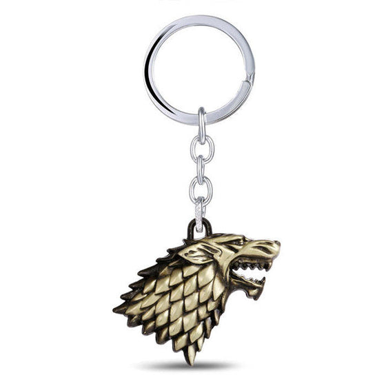 Game Of Thrones Starks Keychain