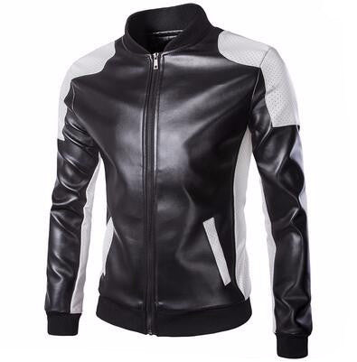 Style & Slim Cool Leather Jacket