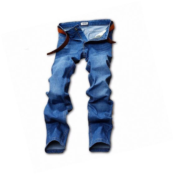 Leisure Blue Straight Jeans