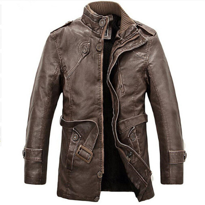 Rough & Tough Leather Jacket