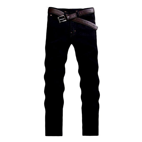 Straight Fit Black Jeans