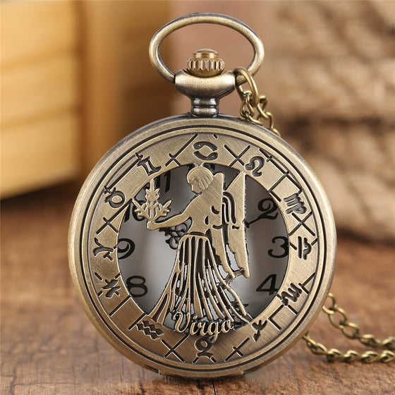 Virgo Pocket Watch