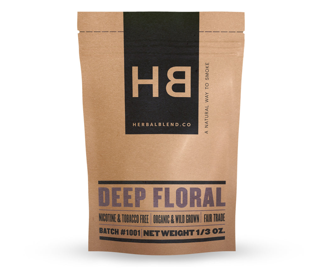 Deep Floral - Herbal Smoke Blends
