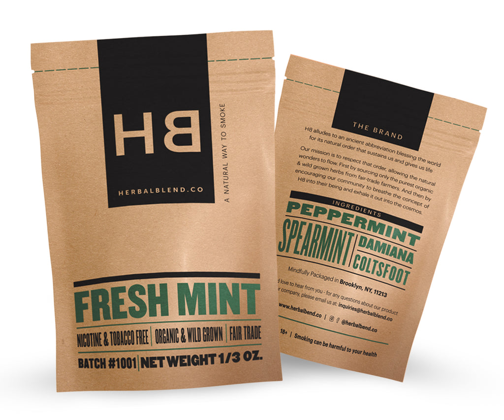 Herbal Smoke Blend - Tobacco and Nicotine Free