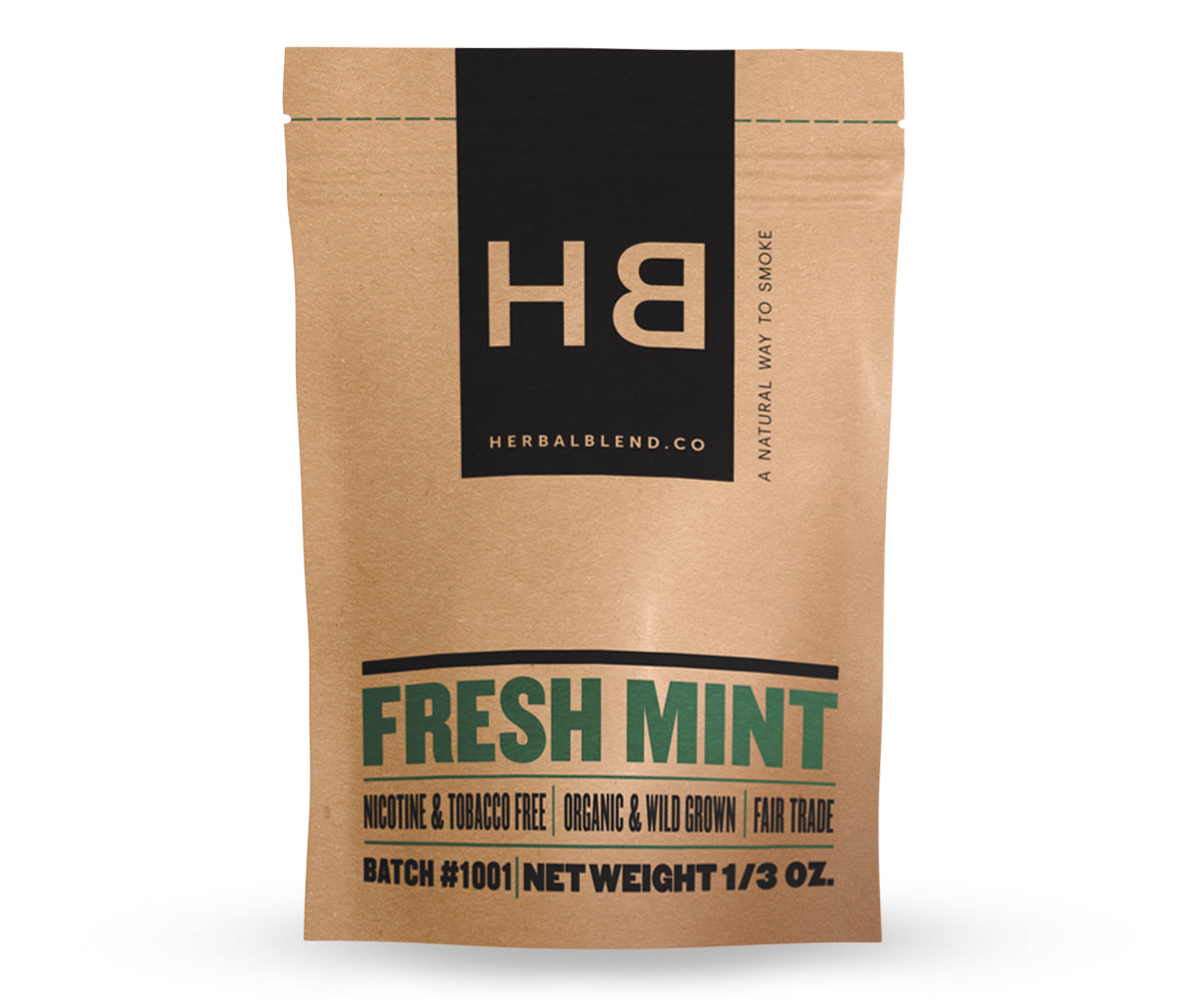 Herbal Smoke Blend - Fresh Mint
