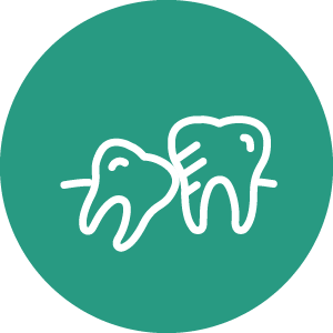Crowded Teeth Correction Icon