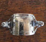 Sterling Silver Angel Antique Napkin Ring