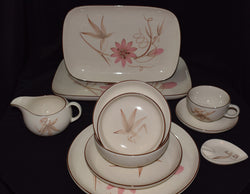 Passion Flower by Winfield Pottery Dish Set