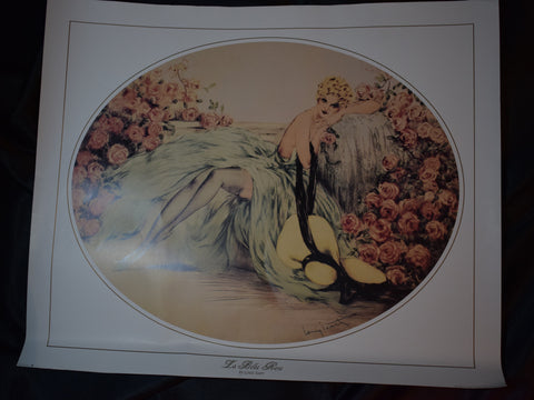 The Belle Rose by Louis Icart, Unframed Print