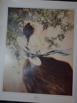 Grapes by Louis Icart, Unframed Print
