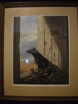 "Rare Limited Edition Print ""The Waiting"" by Burton E. Moore, Jr."