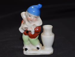 Little Clown Figure by an Urn - Made in Occupied Japan