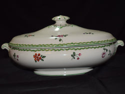 Covered Porcelain Dish - Made in England