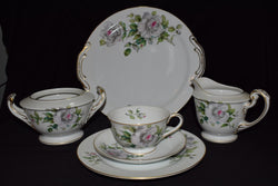 Craftsman China 398 Gray Rose Service