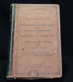 Greene's Analysis: A Treatise on The Structure of the English Language by Samuel S. Greene