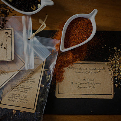 Spice & Tea of the Month Club