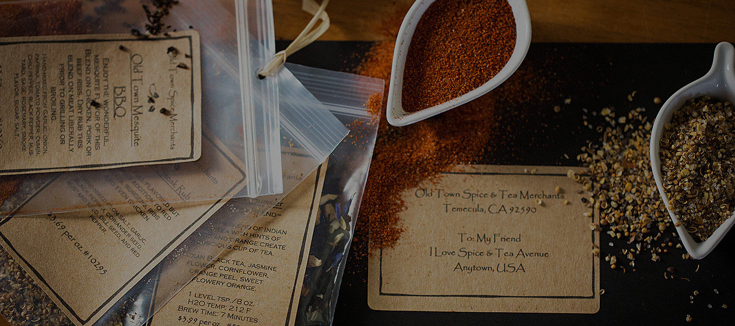 Old Town Spice & Tea Merchants - Spice & Tea of the Month Club