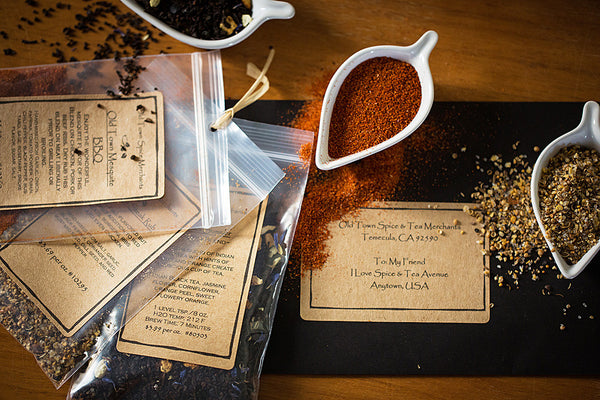 4 Month Spice & Tea Club