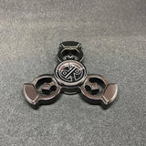 Royal Punk Fidget Spinner - Dark Gunmetal