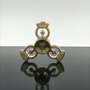 Royal Punk Fidget Spinner - Brass