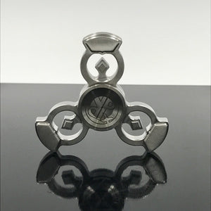 Royal Punk Fidget Spinner- Stainless Steel