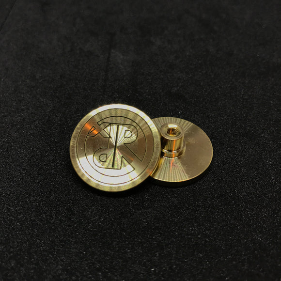 RevPunx Royal Punk RPx Etched Buttons - Brass