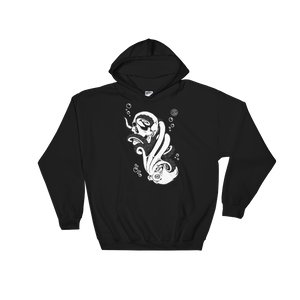 """Into Abyss"" Hooded Sweatshirt"