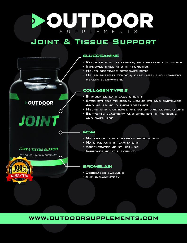 Joint & Tissue Support - OUTDOOR Performance