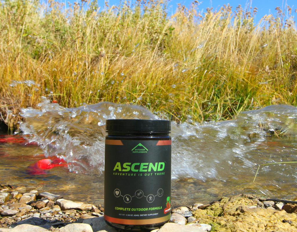 ASCEND - The OUTDOOR Performance Drink makes the difference OUTDOORS