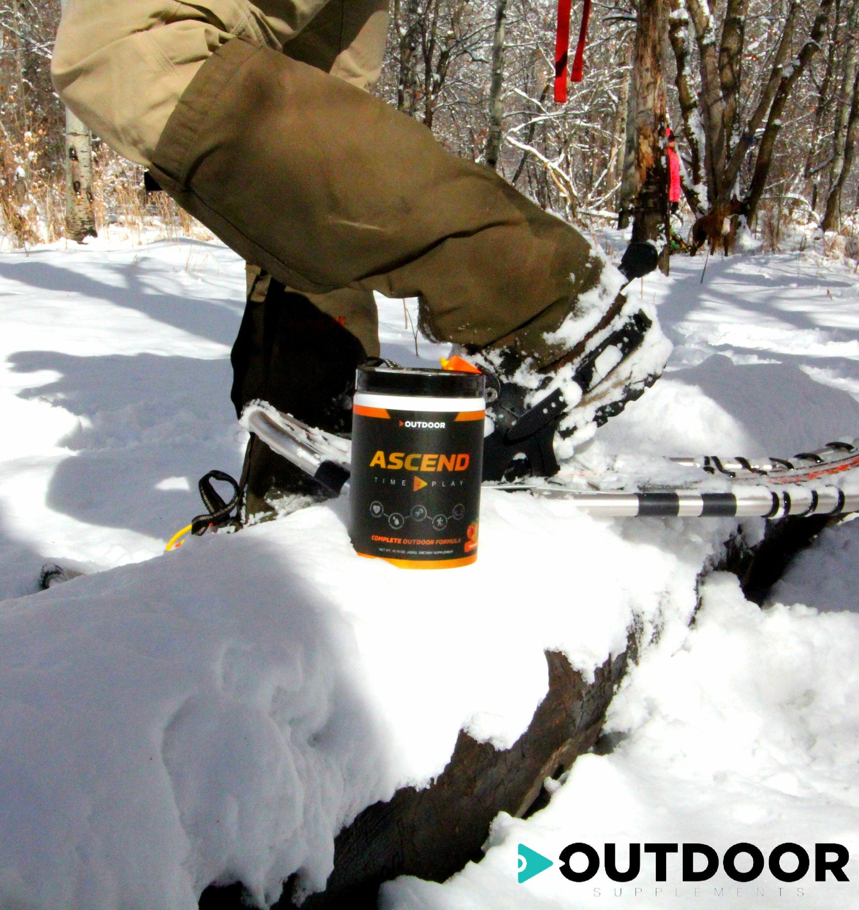 Ascend by Outdoor Supplements is sugar free with zero calories.