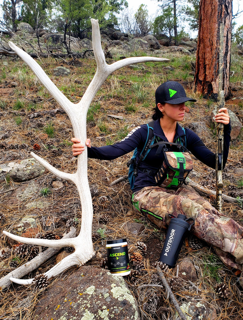 OUTDOOR Supplements for Shed Hunting