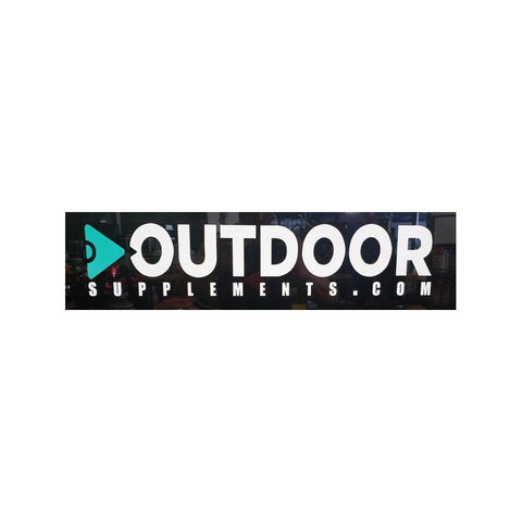 Image of OUTDOOR Supplements Large Decal - OutdoorSupplements