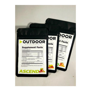 Free Ascend Sample Packets (Just Cover Shipping) - OutdoorSupplements