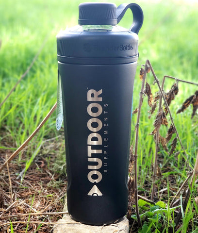 Image of Insulated OUTDOOR Supplements shaker bottle - OutdoorSupplements