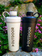 Load image into Gallery viewer, Insulated OUTDOOR Supplements shaker bottle - OutdoorSupplements