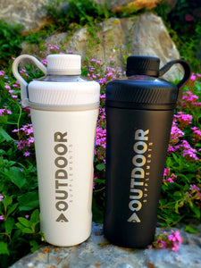 Insulated OUTDOOR Supplements shaker bottle - OutdoorSupplements