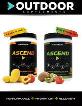Load image into Gallery viewer, ASCEND - Peach Mango - The OUTDOOR Performance Drink - OutdoorSupplements