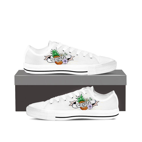 Pineapple Vegan Lowtop Shoes