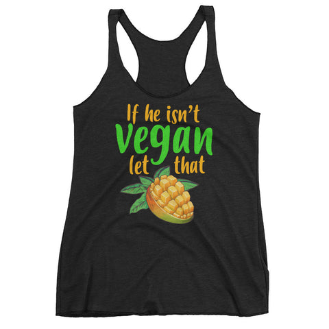 Let That Mango Women's Vegan Tank