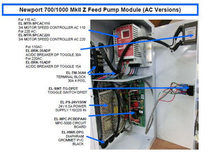 24V 6.5A Power Supply 110/220 Input