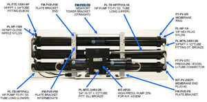 Pump TO PV SS Tube Upper Long 1000