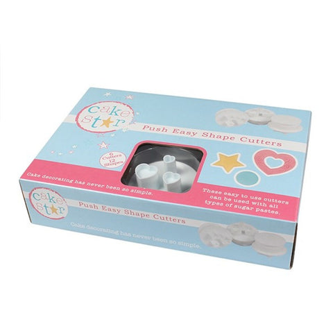 Cake Star udstikkere, Push Easy Shape Cutters